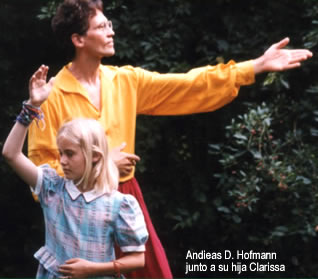 Andieas D. Hofmann & his daughter Clarissa